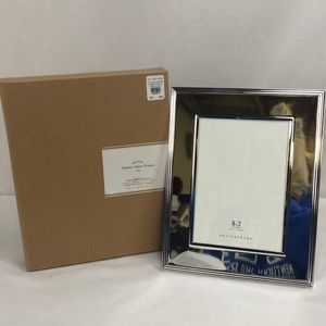 NEW Pottery Barn Classic Silver Frame 5x7